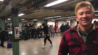 Awesome Street Performers, Union Square Subway, NYC 🇺🇸