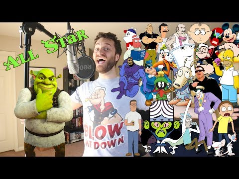 All Star But It's 24 Cartoon Impressions