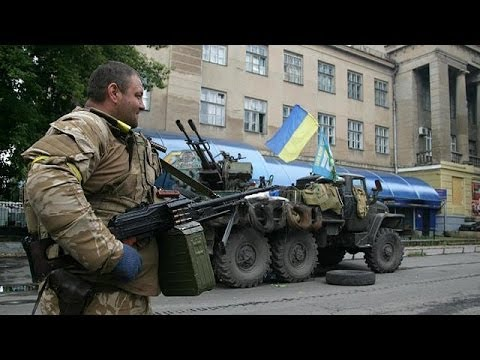 Download Ukraine army takes two more eastern cities