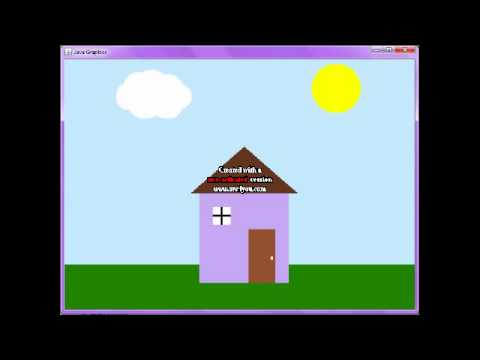 Java Graphics class animation - YouTube