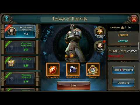 LOD How to Clear Tower of Eternity Floor 90 BR 5M (Legacy of Discord Furious Wings)