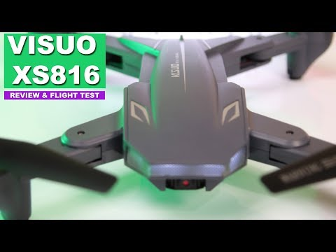 The Tianqu VISUO XS816 Drone - 20 minute Flight Time - Great First Drone for Beginners of All Ages