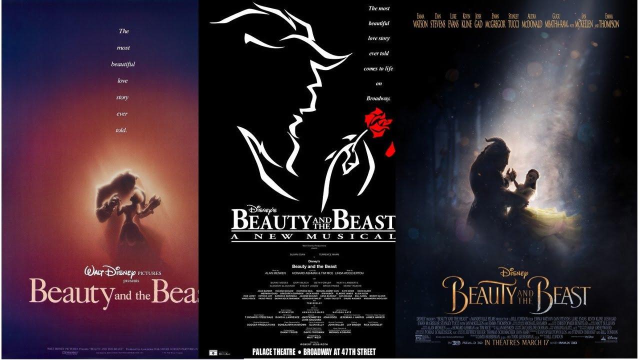 beauty and the beast broadway score pdf