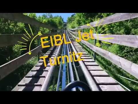Sommerrodelbahn - EIBL Jet Turnitz - great ride in Austrian