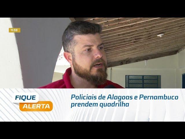 Operação Compass: Policiais de Alagoas e Pernambuco prendem quadrilha