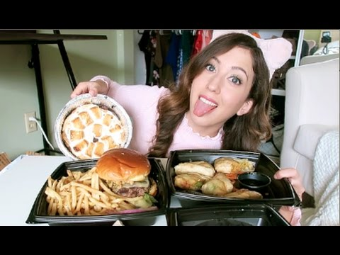 BJ's Restaurant MUKBANG! (Eating Show)