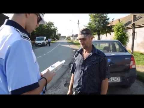 """Poliția Rutieră a """"periat"""" din nou județul Timiș."""