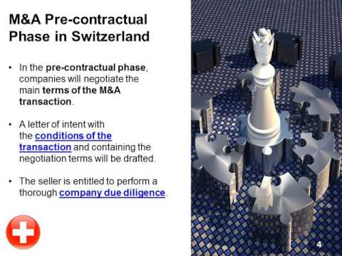 Mergers and Acquisitions in Switzerland