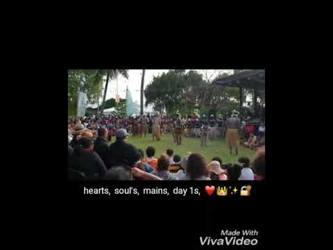Injinoo dance group 2018 at Ciaf festival in Cairns.