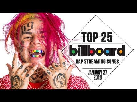 Top 25 • Billboard Rap Songs • January 27, 2018 | Streaming-Charts