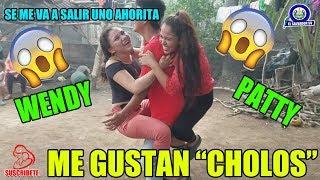 """PATITO Y WENDY - Nos Gustan """"CHOLOS"""" / Ya no Aguanto se me va Salir Uno !!!DIVERTIDO JUEGOS!!! SV"""