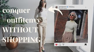Make OLD Clothes Feel NEW again: Shop Your Closet | timeless, classic outfits