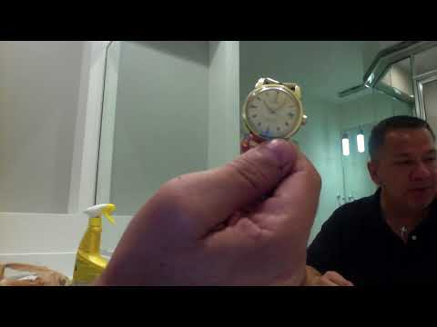 Cleaning Vintage Omega Seamaster Watch DIY