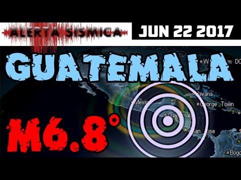 (((ALERTA SISMICA))) M6.8 Guatemala | 2do GRAN TERREMOTO en 8 días