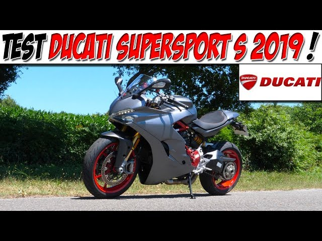 #MotoVlog 170 : TEST DUCATI SUPERSPORT S 113 CH / Du plaisir en confort ?!