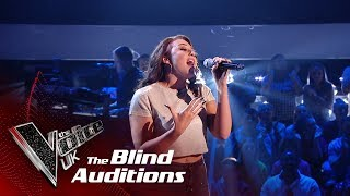 Connie Lamb's 'Skyscraper' | Blind Auditions | The Voice UK 2019