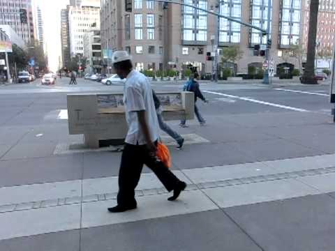 Slow motion of Skateboarding photoshoot On Embarcadero St. S