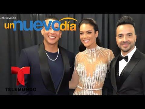 ¡Zuleyka Rivera puso a todos a bailar en los Grammy!   Un Nuevo Día   Telemundo