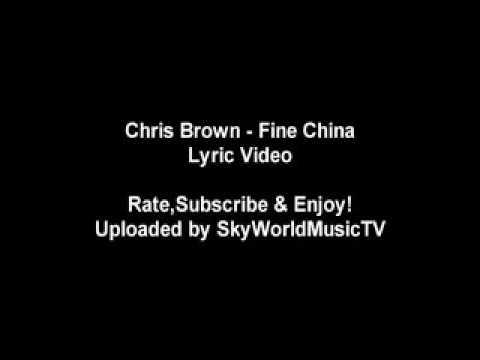 Fine china lyric