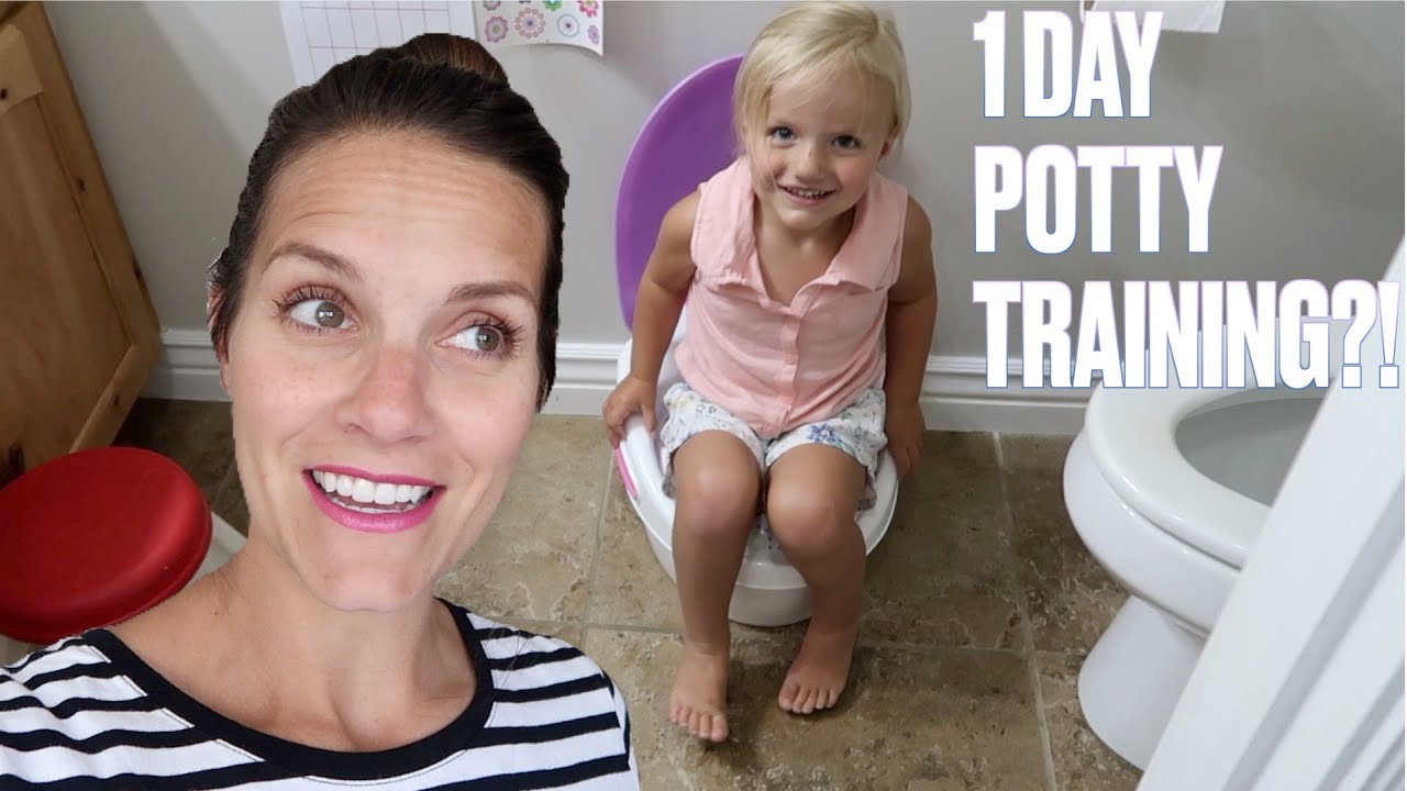 🤩 HOW TO POTTY TRAIN A TWO-YEAR-OLD TODDLER GIRL IN ONE DAY 🚽