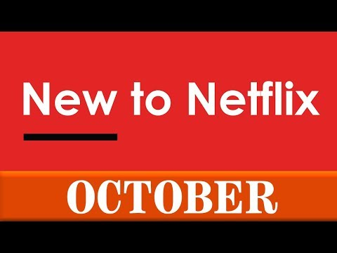 New to Netflix: October 2019