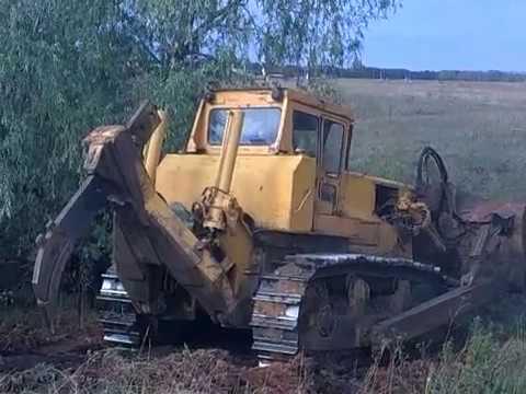 Планировка грунта бульдозером