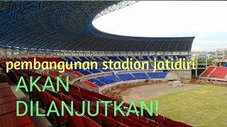 renovasi tahap 4 resmi dilanjutkan!.  update stadion jatidiri
