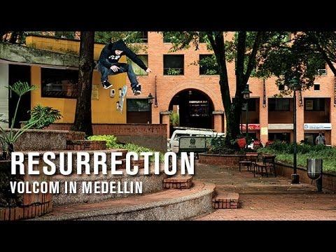 Resurrection: Volcom In Medellin - TransWorld SKATEboarding