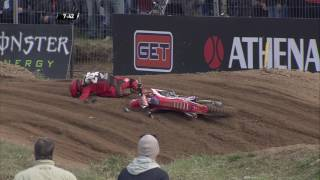 MXGP of Latvia Tim Gajser Crash