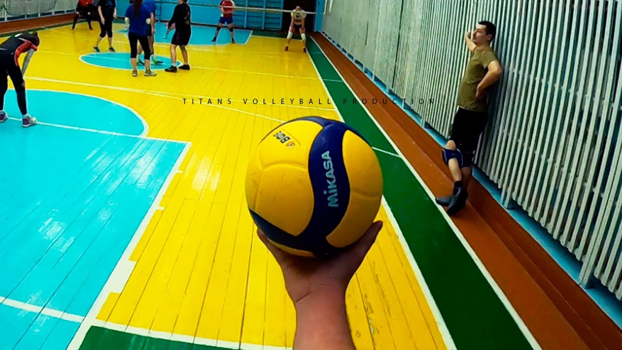 VOLLEYBALL FIRST PERSON | BEST MOMENTS | 11 episode | POV