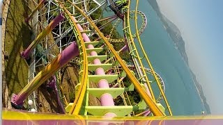 The Dragon Roller Coaster POV Ocean Park Hong Kong China