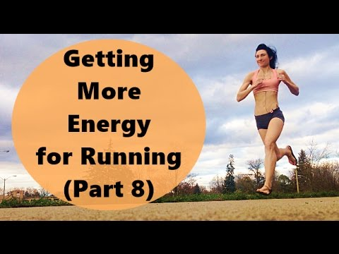 energy for running long distances