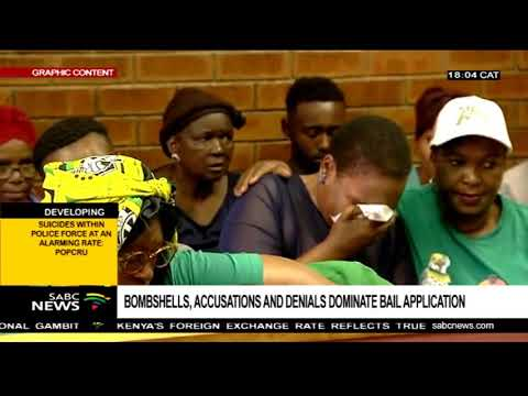 Bombshells, accusations dominate the Vlakfontein bail application