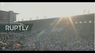 LIVE: Pope Francis visit to Thailand: Holy Mass at Supachalasai National Stadium