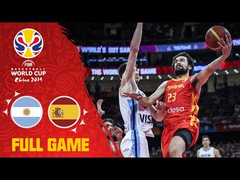 It all came down to this: Argentina v Spain - Final - Full Game - FIBA Basketball World Cup 2019