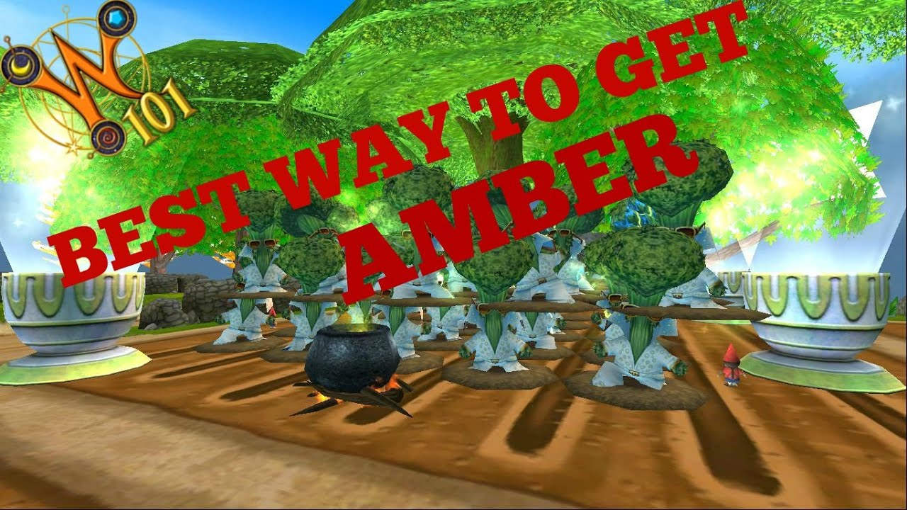 Wizard101: Best Way To Get Amber With Proof