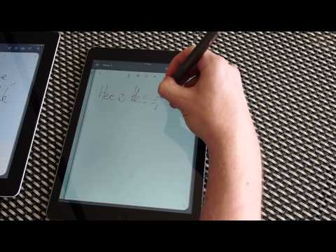The Evernote / Adonit Jot Script doesn't work with the iPad Air