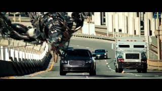 Transformers 3 Fight Scene   Highway Chase HD 720p