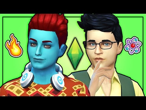 The Sims 4: Monster High | Holt Hyde and Jackson Jekyll (Top 11 VOTE)