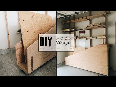 DIY Wood Storage Part Two | Plywood Cart + Giveaway Winner Announced!