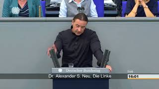 Alexander Neu, DIE LINKE: Aufrüstung der Bundeswehr stoppen