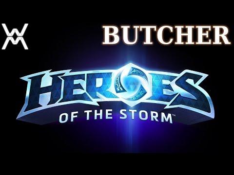 видео: heroes of the storm - Гайд - Мясник / butcher