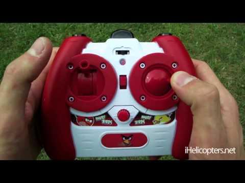 Радиоуправляемый вертолёт Angry Birds