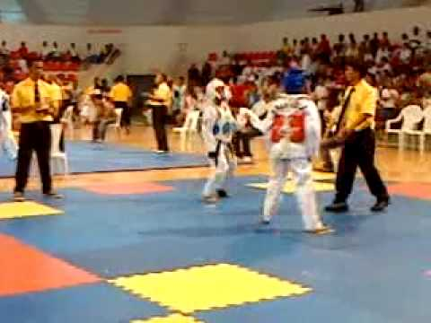 Anne fighting for gold(Mindanao champ)