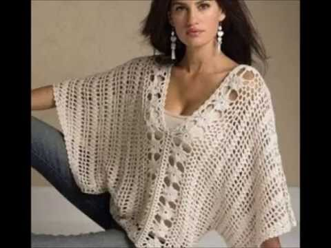 Crochet Blouse - Ganchillo Blusa - croche Blusa Doovi