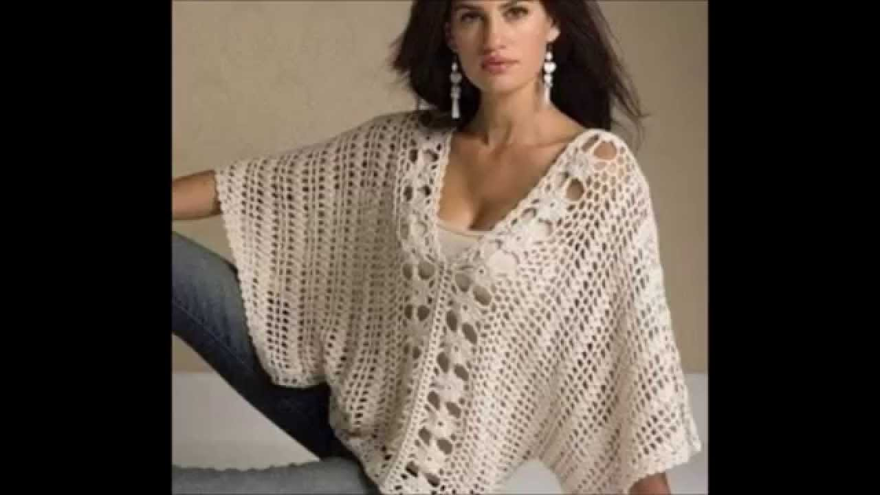 Crochet easy shrug or blouse free pattern youtube bankloansurffo Choice Image