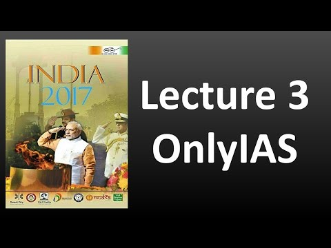 Lecture 3 , India Year Book 2017