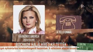 Várkonyi Andrea elárulta, Bochkor Gábort is megviselte a kamu ˝halálhíre˝ - tv2.hu/mokka