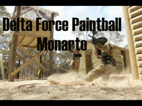 Delta Force Paintball Monarto - First Time - Part 1