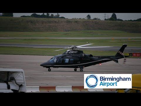 *Elmdon Apron* AgustaWestland AW109 G-EMHD